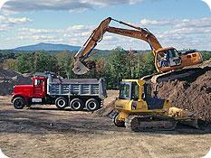 grading-excavating